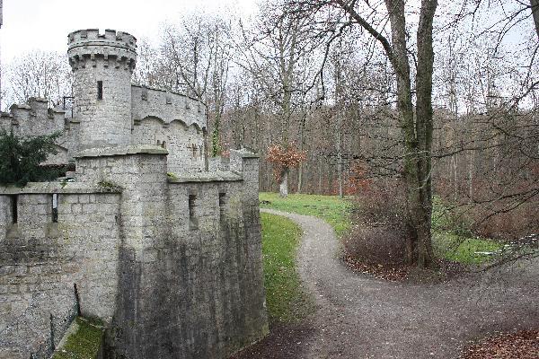 Bergfried Schloss Marienburg
