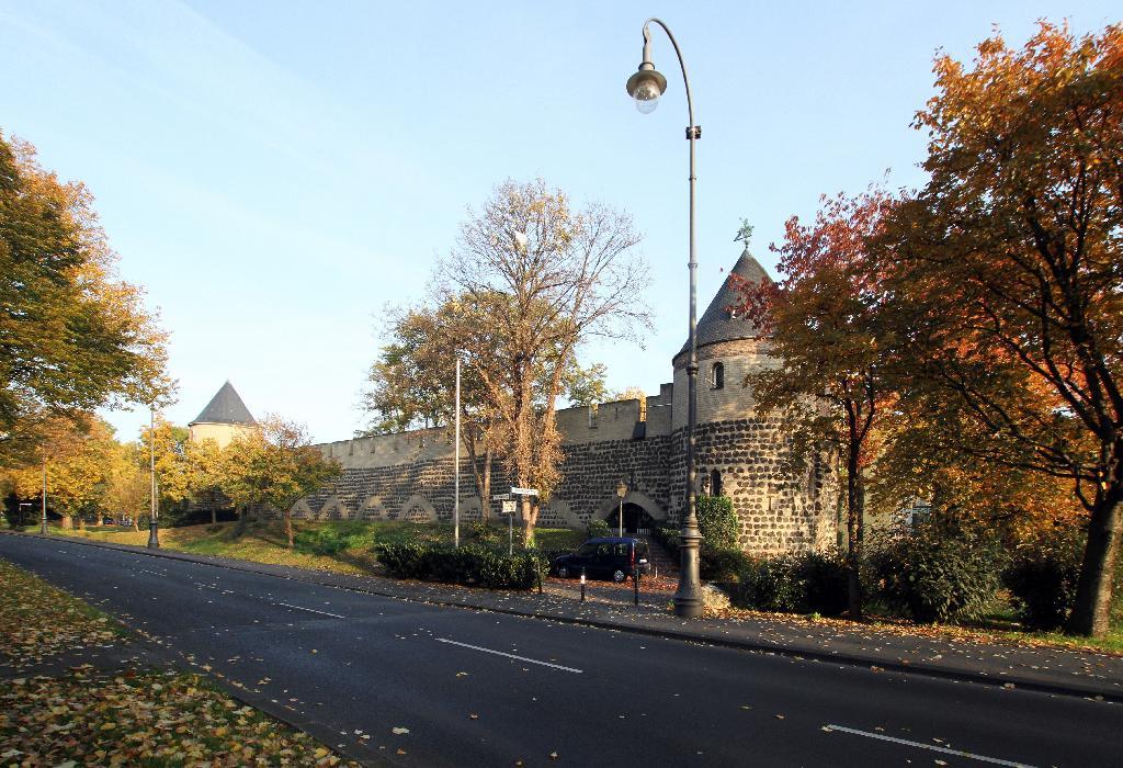 Stadtmauer am Sachsenring